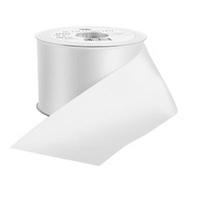 <h4>Funeral ribbon DC exclusive 40mmx25m white</h4>