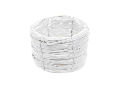<h4>Basket Paia d17xh11 white</h4>