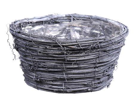 <h4>Basket Timbo d20xh10 grey</h4>
