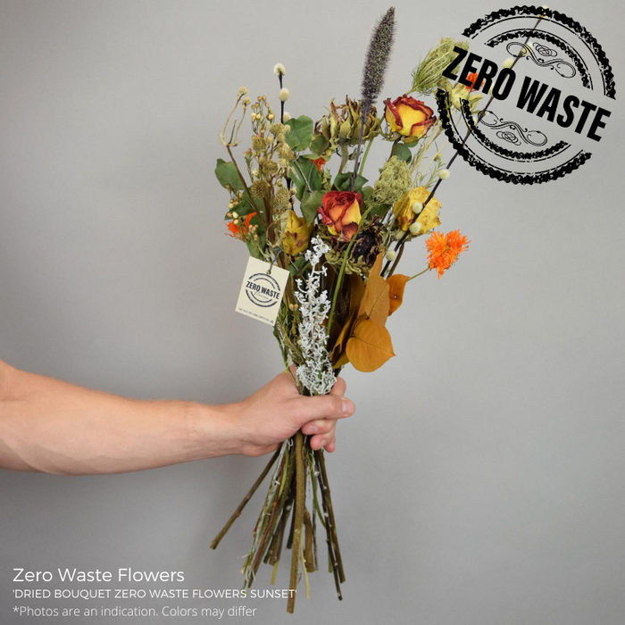 <h4>Dried Bouquet Zero Waste Flowers Sunset</h4>