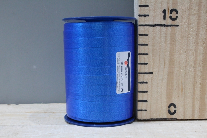 <h4>CURLY RIBBON 10MM 250M BLUE 614</h4>