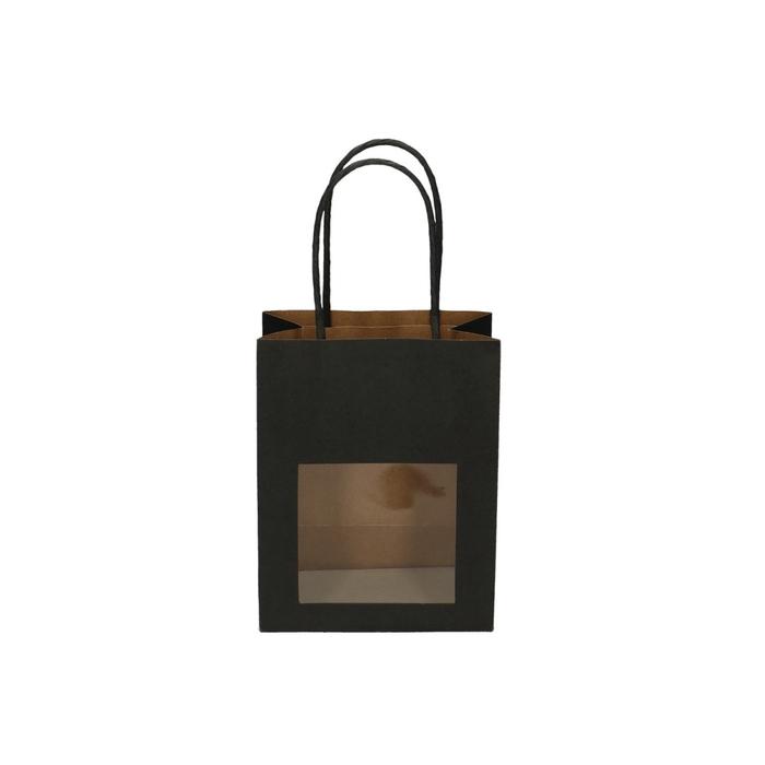 <h4>Tassen Gift bag venster 6/11*14cm</h4>