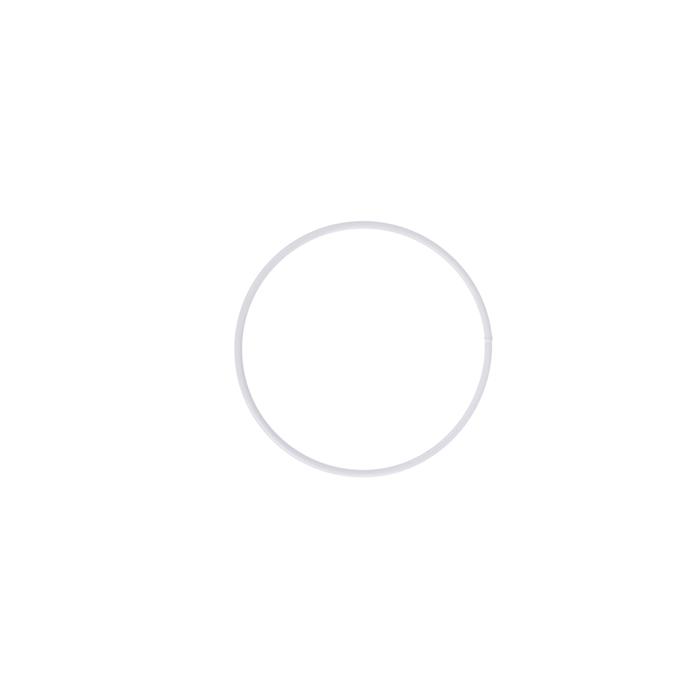 <h4>METAL RING ROUND SINGLE 040CM WHITE</h4>