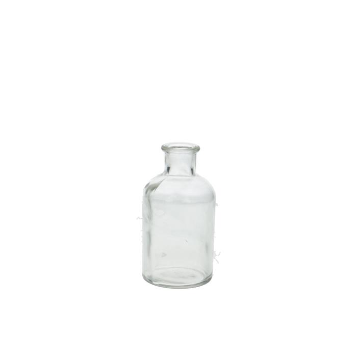 <h4>Glas Fles rond d7*12.5cm</h4>