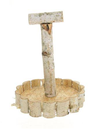 <h4>Tray wood+handle d24cm</h4>