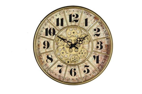 <h4>Clock Gear Ø40cm Gold 85103</h4>