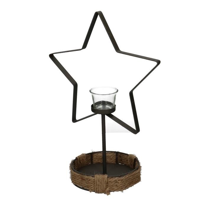 <h4>Christmas Frame star+glass d15*37cm</h4>