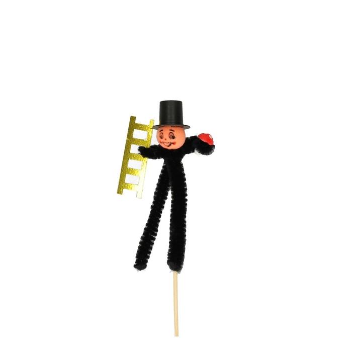 <h4>Christmas sticks 15cm Chimney sweep 7cm</h4>