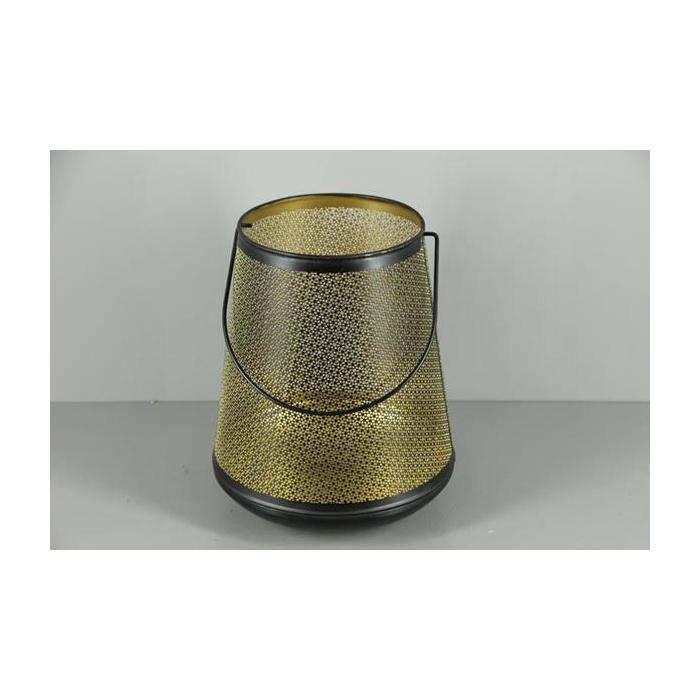 <h4>Lantern Mtl Bucket Blk+hnd 31</h4>