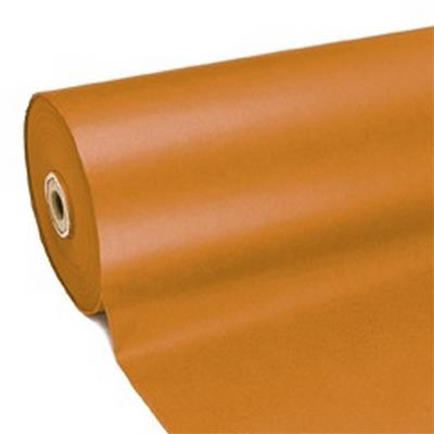<h4>Papier 75cm kraft marron 50gr Orange fond 210m.</h4>