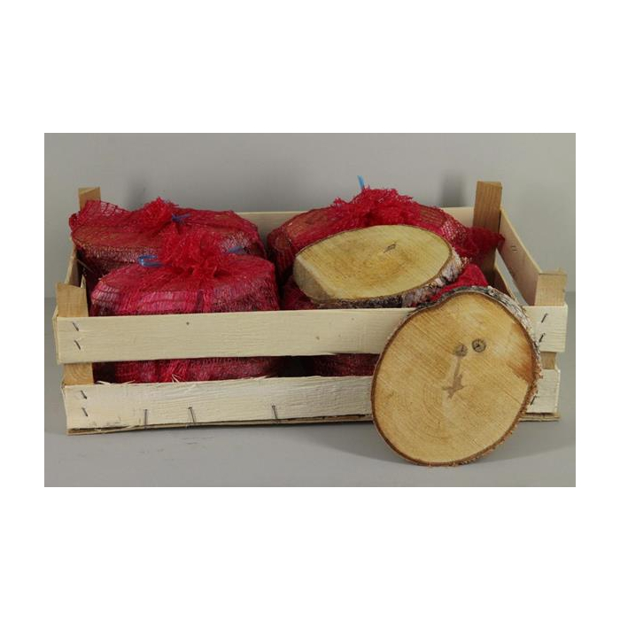 <h4>Birch Slices Oval 20cm (7pc)</h4>