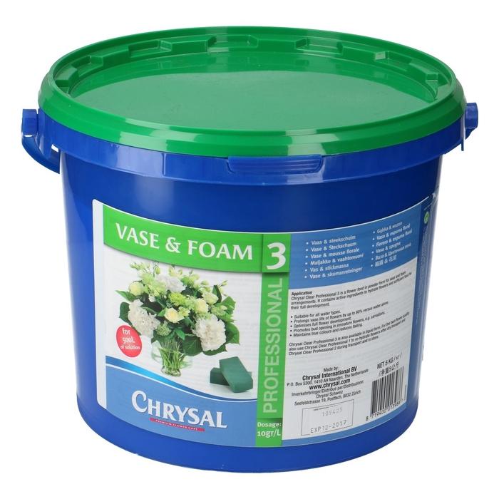 <h4>Abono organico Chrysal Prof.3 polvo 5kg</h4>