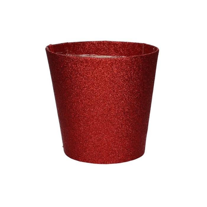 <h4>Christmas Pot Glitter d12*12cm</h4>