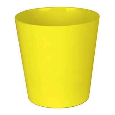 <h4>Pot Dallas Céramique Ø13xH13cm jaune shiny</h4>