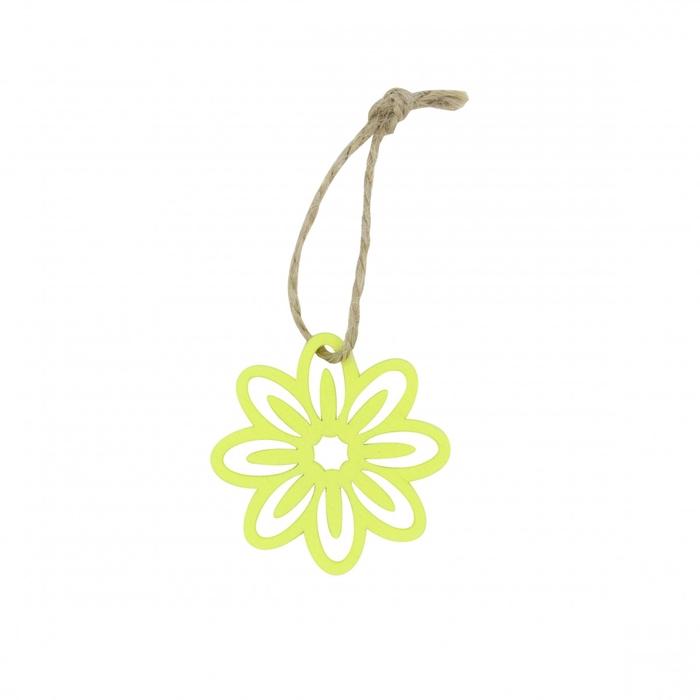 <h4>Decoratie Hanger bloem 5cm x24</h4>