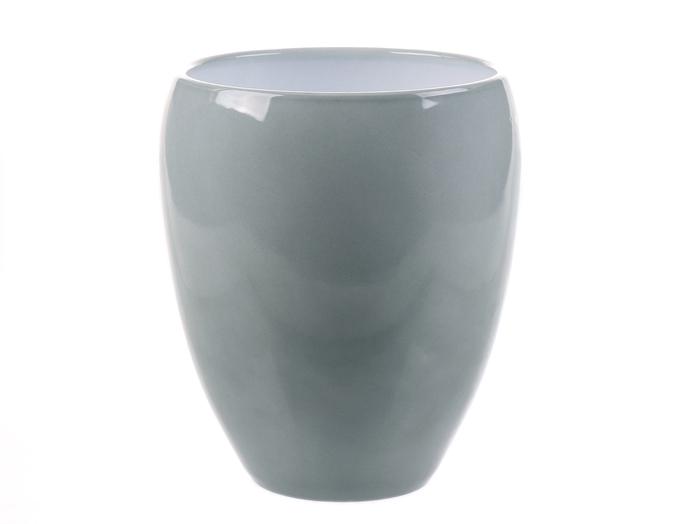 <h4>DF884340500 - Pot Kaelie d14.5/16xh18.5cm misty green</h4>