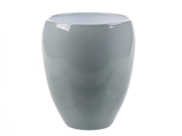<h4>DF884340500 - Pot Kaelie d14.5/16xh18.5cm misty green</h4>