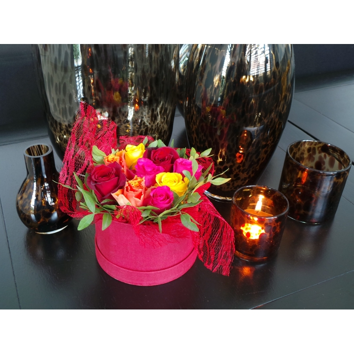 <h4>Bouquet Hat Box small Lovely Red</h4>