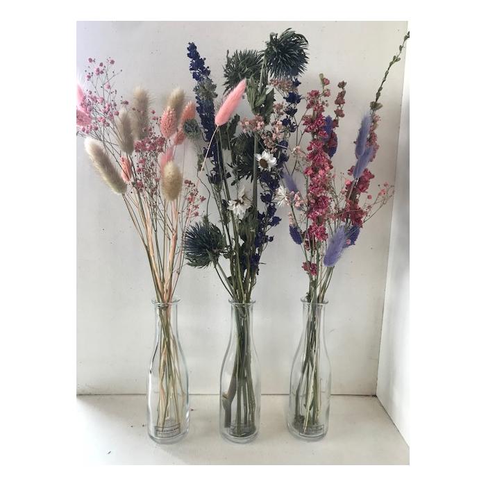 <h4>Fles dried bouquet ca.40cmh</h4>