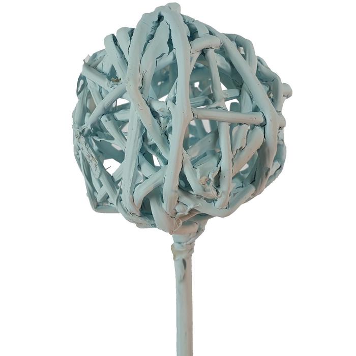 <h4>Bruce ball 5cm on stem light blue</h4>