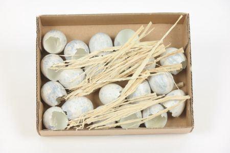 <h4>Deco Quail Egg Shell 20pc</h4>