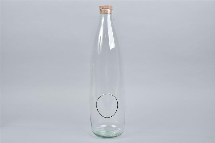 <h4>Glas Met Kurk Open 15x54cm Nm</h4>