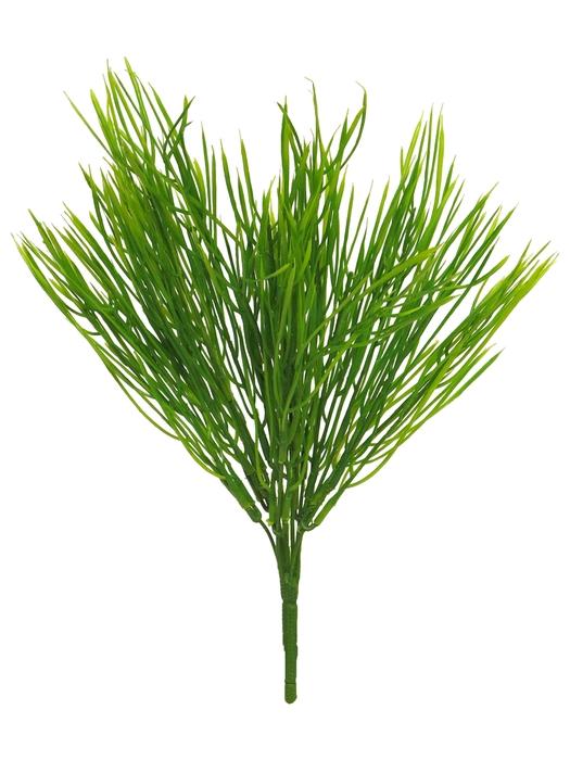 <h4>SILK GRASS BUSH CERA GREEN 38CM 51380-1</h4>