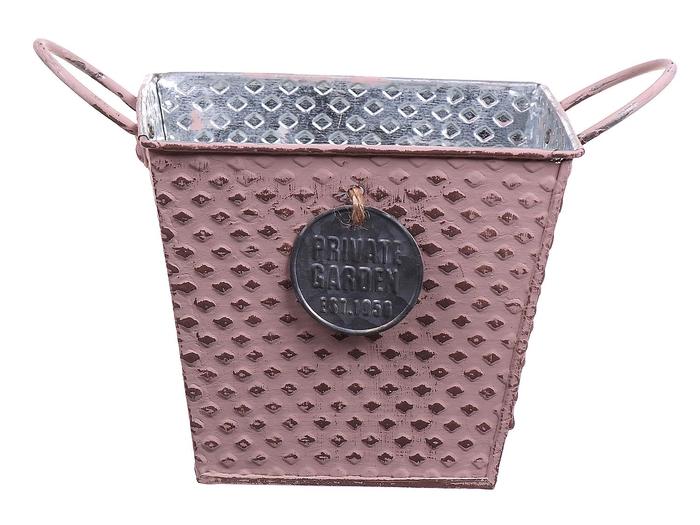 <h4>DF663087025 - Pot Marseille 10x10x10 pink</h4>