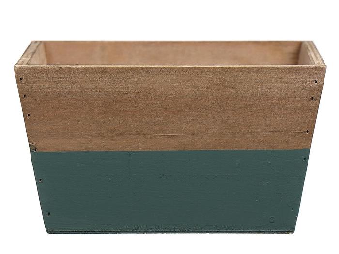 <h4>DF662681500 - Planter Argo3 18x18x10 green/natural</h4>