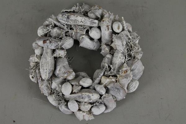 <h4>Wreath Shells Mix Whitewash</h4>