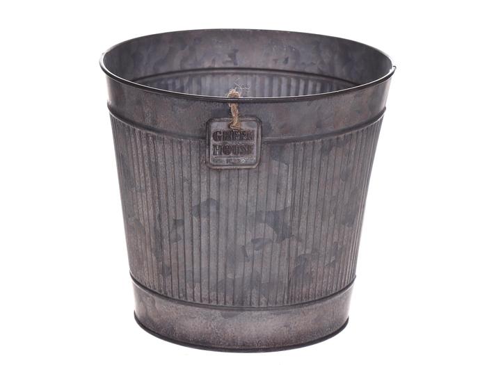 <h4>DF500063375 - Pot Rinco d18.5xh16 grey</h4>