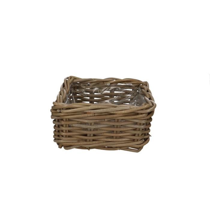 <h4>Baskets Rattan tray square d23*13cm</h4>