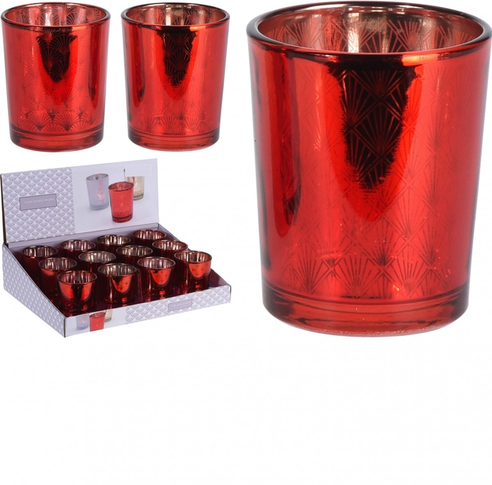 <h4>Candlelight Glass deco d5.5*6.5cm</h4>