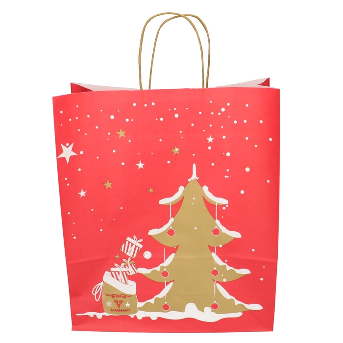 <h4>Christmas Bag deco d35/14*41cm</h4>