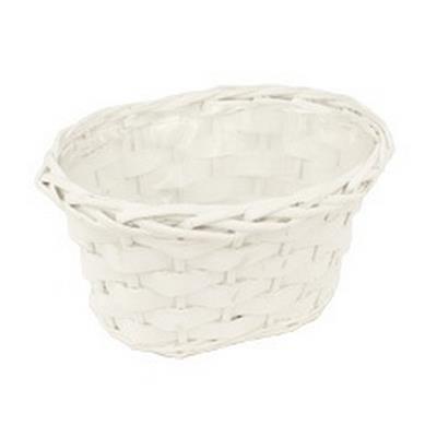 <h4>Bowl Manilla wood bar/willow L25xW15xH14cm white</h4>