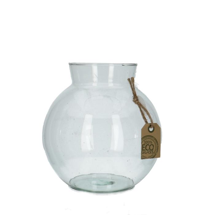 <h4>Glas Eco bolvaas kraag d09/17*17cm</h4>
