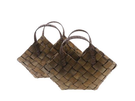 <h4>Bag Redwood Set/2 45x17,5x37cm</h4>
