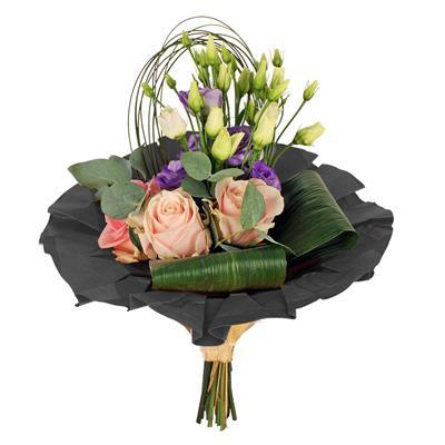 <h4>Bouquet cover kraft Ø32cm noir</h4>
