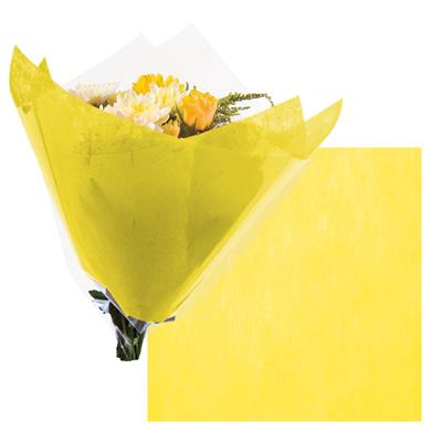 <h4>Colorflor short fibre sheet 30x30cm yellow</h4>