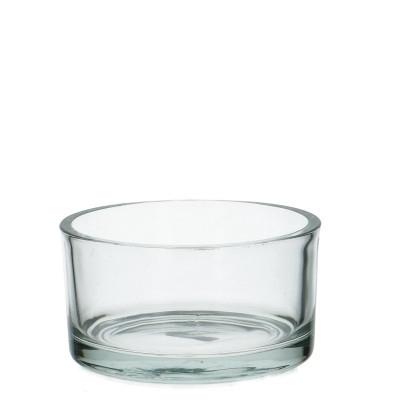 <h4>Glas Schaal rond d15*8cm</h4>