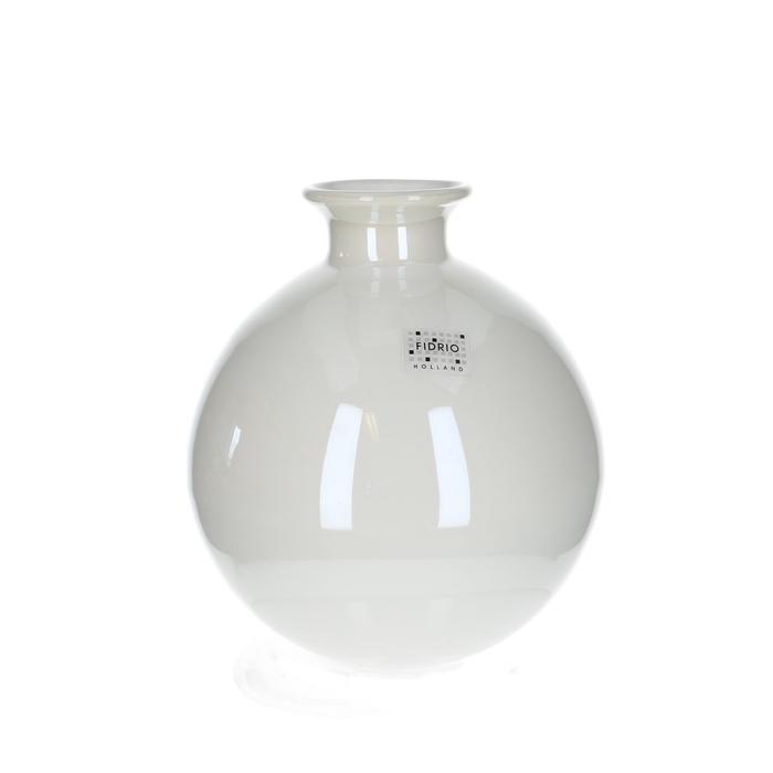<h4>Glas Fidrio Parlemour flesvaas d3/15*19cm</h4>