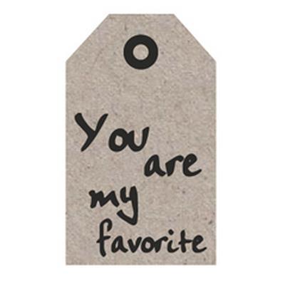 <h4>Bloemkaartjes ma -My Favorite- pakje 20 stuks</h4>