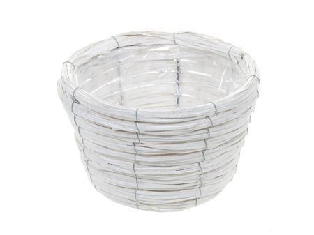 <h4>Basket Paia d21xh13 white</h4>