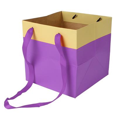 <h4>Bag Facile carton 16x16x16cm purple</h4>