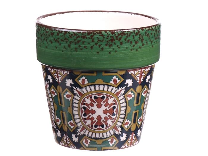 <h4>DF560465025 - Pot Mali d10.5xh9.2 green</h4>
