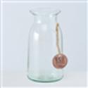 <h4>Vase Eco-Glas, H 18 cm, Klarglas, Transparent glass clear clear</h4>