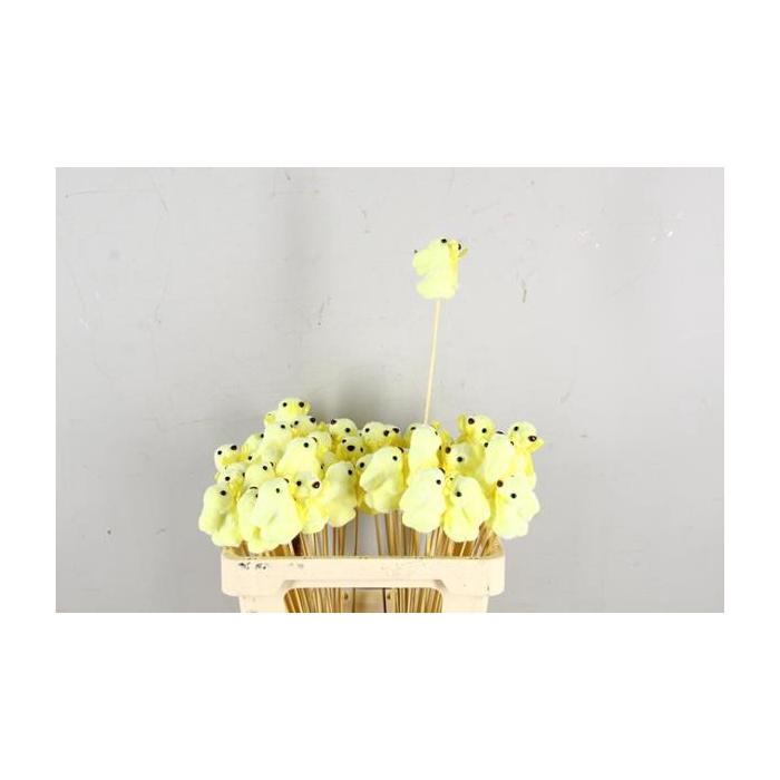<h4>Stick Rabbit 8cm Yellow</h4>