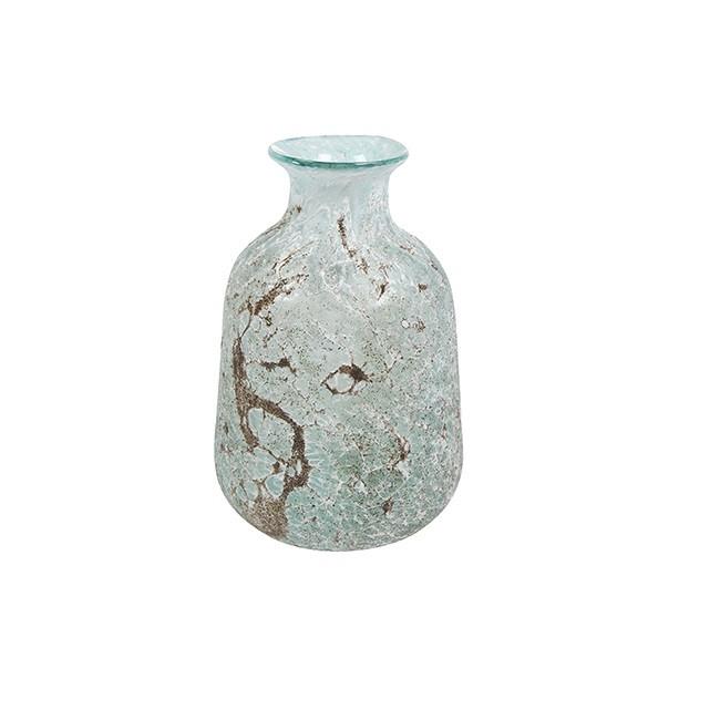 <h4>Glass colour Aya bottlevase d17*26cm</h4>