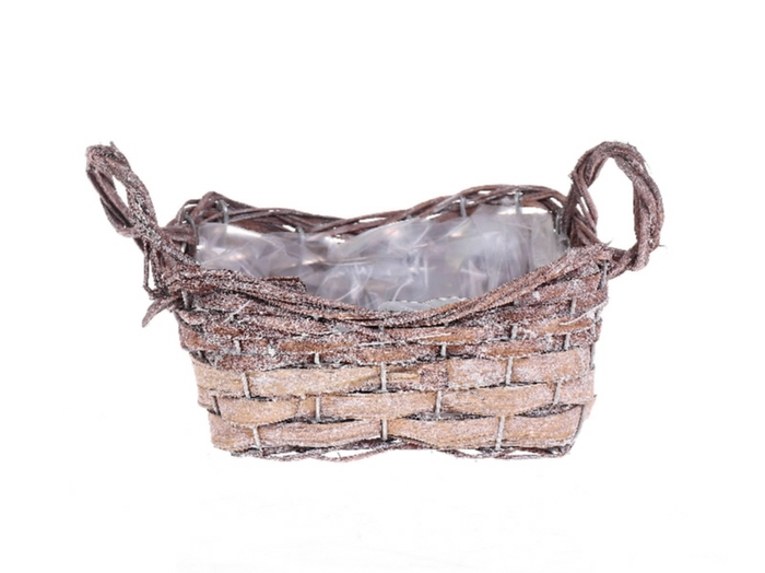 <h4>DF500090200 - Basket 'Ardine' rct 20x15cm</h4>