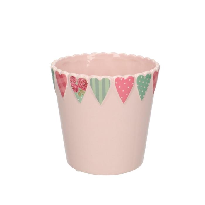 <h4>Sale Pot heart rim d13*12.5cm</h4>